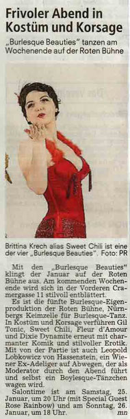 Nürnberger Nachrichten, 21.01.2014