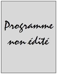 Programme  Leipzig-PSG  2014-15