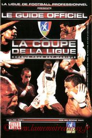 Programme  PSG-Nantes  2002-03
