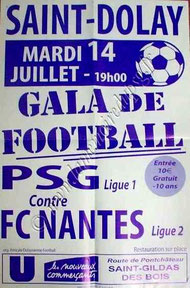 2009-07-14  Nantes-PSG (Amical à Saint Dolay, Affiche)