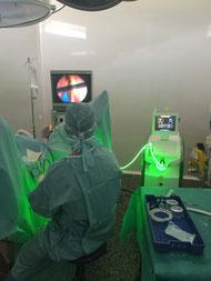 Chirurgie de la prostate par laser