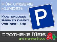 Parkplatz kostenlos Cloppenburg Apotheke Meis am Krankenhaus Ärztehaus am Krankenhaus Cloppenburg Johannes Meis