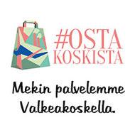 #Ostakoskista - Mekin palvelemme Valkeakoskella