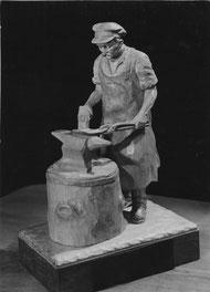 """R. Kunis: """"Der Schmied"""", Zeitschrift 'Das neue Handwerk' (4. Febr. 1963)"""
