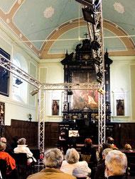 Intérieur de la Chapelle des Capucins. R. des Capucins, 5 - Enghien [B]