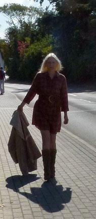 Kleid in Herbstfarben von Vero Moda
