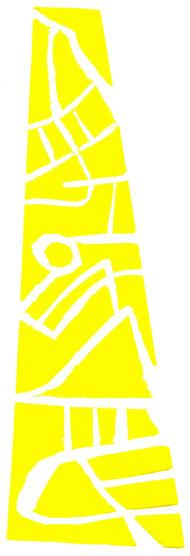 linoleum originale di Roberto Dossi (misura 197x65 mm)