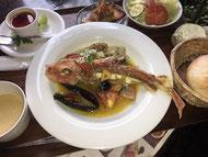 本日の魚料理セット