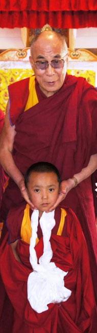 H.H. 20th Kushok Bakula Rinpoche, Dalai Lama