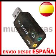 TARJETA DE SONIDO POR USB