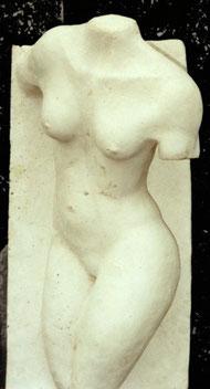 Bild: Skulptur aus Gips