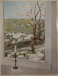 Blick aus meinem Fenster (am Mattenbach) I (Ursula Breitenmoser)