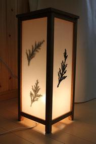 木工品:行灯