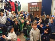 Kinderunterhaltung Eishockey