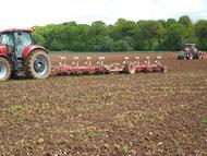 La bour et semis de mais (2) 2013