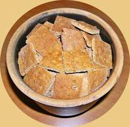 Pfefferkuchen vor dem Dekorieren