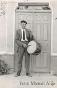 Benito Alija, más conocido como Rula el Tamborilero