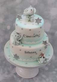 Tauftorten Baby Shower Party - Danielas Cake Dream