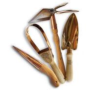 Petits outils de jardinage en cuivre Online-Shop