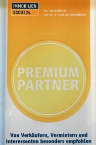 Auszeichnung: Premium-Partner von immoscout.de