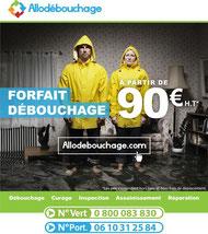 Débouchage canalisation Paris à partir de 90€