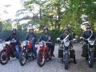 """Varese 14 Settembre 2013 - I nostri soci alla partenza della rievocazione storica della """" Sei giorni di Varese """""""