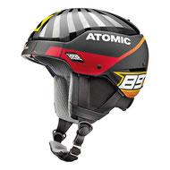 Atomic Helme und Brillen