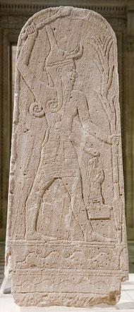 Baalshamin, ou Baal, dieu phénicien du ciel, de la pluie et de la fertilité était le dieu le plus vénéré au moyen-Orient. Son culte s'est propagé jusqu'à Rome et jusqu'en Afrique (Egypte, Carthage). Les Israélites tombaient dans l'idolâtrie de Baal