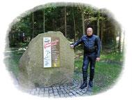 Gedenkstein 10 Jahre Lückendorfer Bergrennen