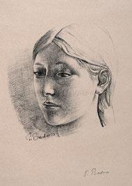 Nr. 1352 Mädchenportrait