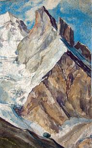 Nr. 1877 Felspartie an der Jungfrau 1953