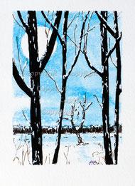 Nr. 381 Winterlandschaft