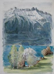 Nr.455 Frühling am Brienzersee