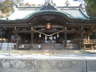 登山前に筑波山神社をお参り