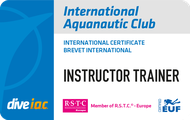 International Aquanautic Club Brevet Instructor Trainer