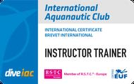 International Aquanautic Club Brevet Instructor Trainer