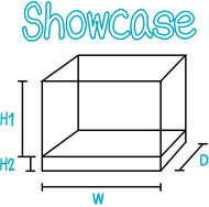showcase DIY