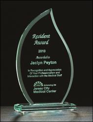 Flame Jade Glass Awards