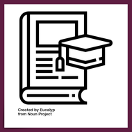 thesis by ©Eucalyp from the Noun Project https://thenounproject.com/search/?q=thesis&i=1934274