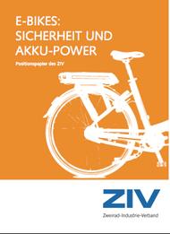 E-BIKES: SICHERHEIT UND AKKU-POWER VOM ZIV