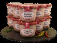 Pfefferoni Fleischkäse im Glas im Onlineshop der Metzgerei Weinbuch