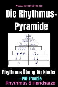 Trommeln Rhythmus Übung für Kinder