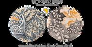Unterseite des Silber-Schungit-Buster