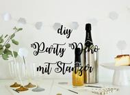 Bild: DIY Ideen für Partydeko und Dekoration für die Hochzeit selber basteln, Ideen und Tipps aus partystories.de entdecken