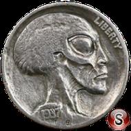 Alien coin 1937