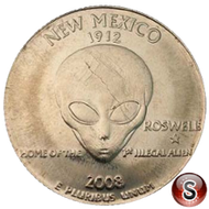 2008 Parodia Quartiere Roswell Nuovo Messico