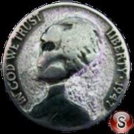 Alien coin 1947