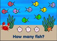 vissen tellen