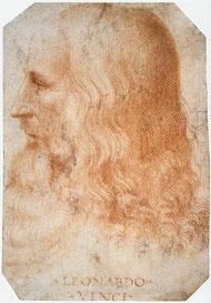 フランチェスコ・メルツィによる晩年の肖像画。