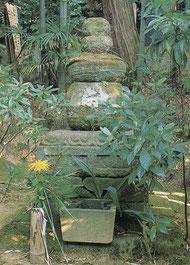 北条泰時墓。鎌倉市大船・常楽寺